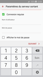 Samsung G925F Galaxy S6 Edge - E-mail - Configuration manuelle - Étape 14
