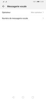 Huawei P30 - Messagerie vocale - configuration manuelle - Étape 8