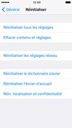 Apple iPhone 5s iOS 9 - Appareil - Réinitialisation de la configuration d