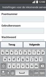 LG Optimus L70 (LG-D320n) - E-mail - Handmatig instellen - Stap 12