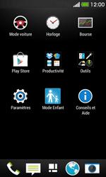 HTC Desire 500 - Wifi - configuration manuelle - Étape 2