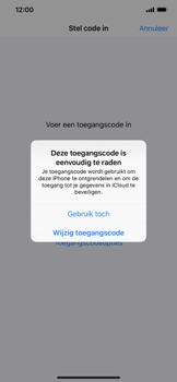Apple iPhone XR - Beveiliging - stel in of wijzig pincode voor je toestel - Stap 6