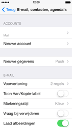 Apple iPhone 5 iOS 7 - E-mail - e-mail instellen: POP3 - Stap 15