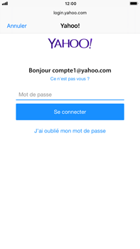 Apple iPhone 8 Plus - E-mail - Configuration manuelle (yahoo) - Étape 7