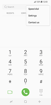 Samsung Galaxy S8 - Voicemail - Manual configuration - Step 5