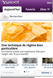 Samsung Galaxy Xcover 3 VE - Internet - Sites web les plus populaires - Étape 12