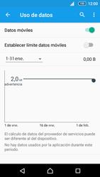 Sony Xperia Z5 Compact - Internet - Activar o desactivar la conexión de datos - Paso 5