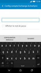 HTC Desire 816 - E-mails - Ajouter ou modifier un compte e-mail - Étape 7