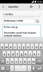 Huawei Ascend Y330 - E-mail - E-mails verzenden - Stap 10