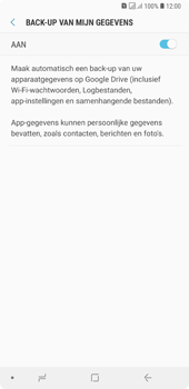 Samsung Galaxy A7 (2018) - Data - maak een back-up met je account - Stap 8