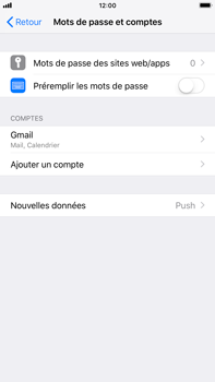 Apple iPhone 7 Plus - iOS 12 - E-mail - Configurer l