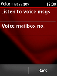 Nokia Asha 300 - Voicemail - Manual configuration - Step 5