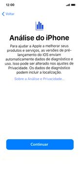 Apple iPhone X - iOS 12 - Primeiros passos - Como ativar seu aparelho - Etapa 25