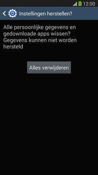 Samsung N9005 Galaxy Note III LTE - Toestel reset - terugzetten naar fabrieksinstellingen - Stap 8