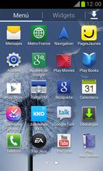 Samsung S7560 Galaxy Trend - Mensajería - Configurar el equipo para mensajes de texto - Paso 3