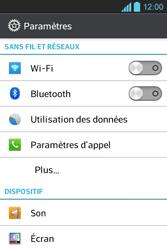 LG E610 Optimus L5 - Wifi - configuration manuelle - Étape 3