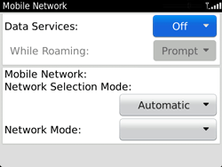 BlackBerry 9720 Bold - Internet - Enable or disable - Step 8