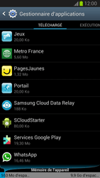 Samsung Galaxy Note 2 - Applications - Supprimer une application - Étape 5