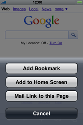 Apple iPhone 4 - Internet - Internet browsing - Step 5