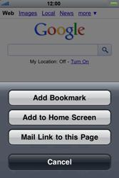 Apple iPhone 4 - Internet - Internet browsing - Step 5