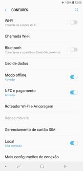 Samsung J4+ - Rede móvel - Como ativar e desativar o modo avião no seu aparelho - Etapa 6