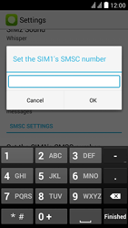Huawei Y625 - SMS - Manual configuration - Step 7