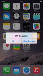 Apple iPhone iOS 8 - Funções básicas - Como reiniciar o aparelho - Etapa 5