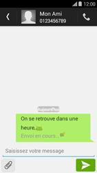 Bouygues Telecom Ultym 5 II - Contact, Appels, SMS/MMS - Envoyer un SMS - Étape 10