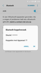 Samsung Galaxy S7 - Android Oreo - Bluetooth - headset, carkit verbinding - Stap 8