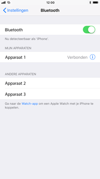Apple iPhone 8 Plus - Bluetooth - Koppelen met ander apparaat - Stap 6