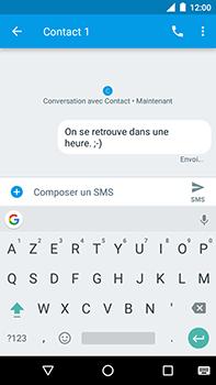 Motorola Moto E4 Plus - Contact, Appels, SMS/MMS - Envoyer un SMS - Étape 9