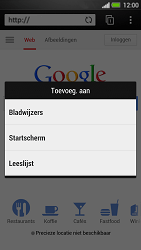 HTC One - Internet - internetten - Stap 6