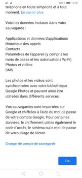 Huawei P30 Pro - Données - créer une sauvegarde avec votre compte - Étape 11