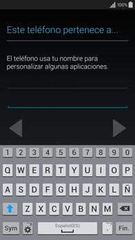 Samsung N910F Galaxy Note 4 - Primeros pasos - Activar el equipo - Paso 12