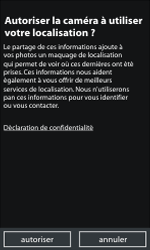 Nokia Lumia 800 - Photos, vidéos, musique - Créer une vidéo - Étape 4