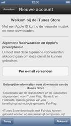 Apple iPhone 5 - Applicaties - Account aanmaken - Stap 6