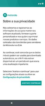 Motorola One Vision - Primeiros passos - Como ativar seu aparelho - Etapa 18