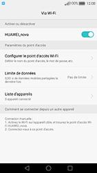 Huawei Nova - Internet et connexion - Partager votre connexion en Wi-Fi - Étape 11