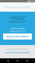 Fairphone Fairphone 2 (2017) - Software updaten - Update installeren - Stap 6