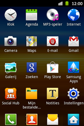 Samsung S6500D Galaxy Mini 2 - Internet - hoe te internetten - Stap 2