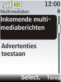 Nokia 2720 fold - MMS - probleem met ontvangen - Stap 10