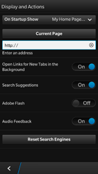BlackBerry Z30 - Internet - Manual configuration - Step 20