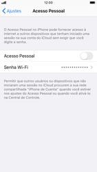 Apple iPhone 8 - iOS 13 - Wi-Fi - Como usar seu aparelho como um roteador de rede wi-fi - Etapa 4
