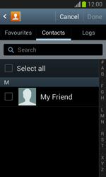 Samsung S7390 Galaxy Trend Lite - E-mail - Sending emails - Step 6