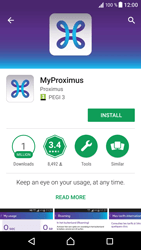 Sony F8331 Xperia XZ - Applications - MyProximus - Step 7