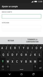 HTC Desire 620 - E-mail - Configuration manuelle - Étape 19