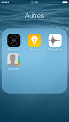 Apple iPhone 5 (iOS 8) - Contact, Appels, SMS/MMS - Ajouter un contact - Étape 4