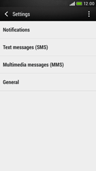 HTC Desire 601 - SMS - Manual configuration - Step 7