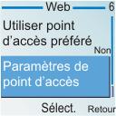 Nokia 6030 - Internet - configuration manuelle - Étape 13