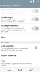 LG G3 S - Network - Usage across the border - Step 5